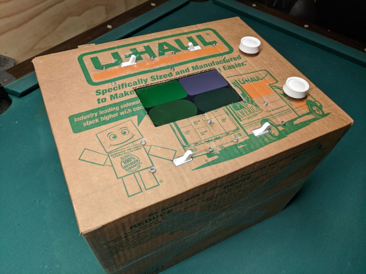A picture of the Cardboard Boxcade