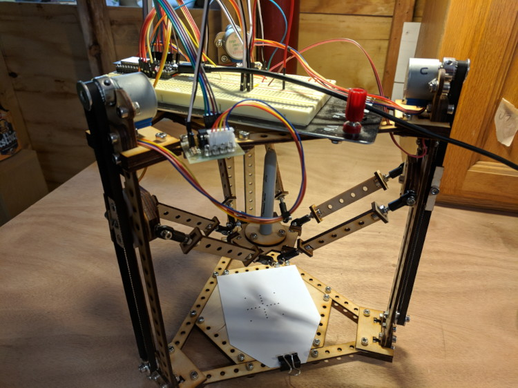 A picture of the Delta Robot