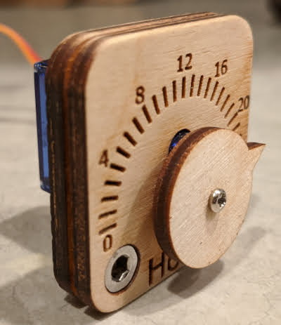 A picture of the Indicator Gauge